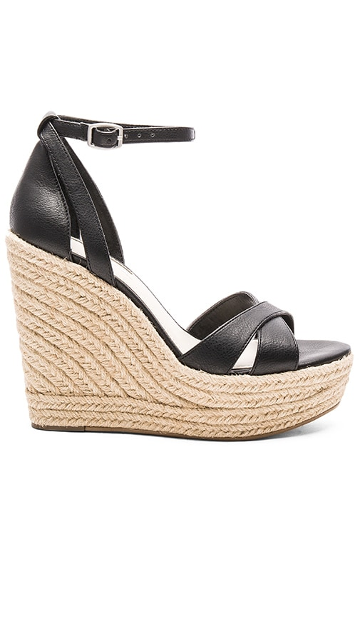 BCBGeneration Holly Wedge in Black
