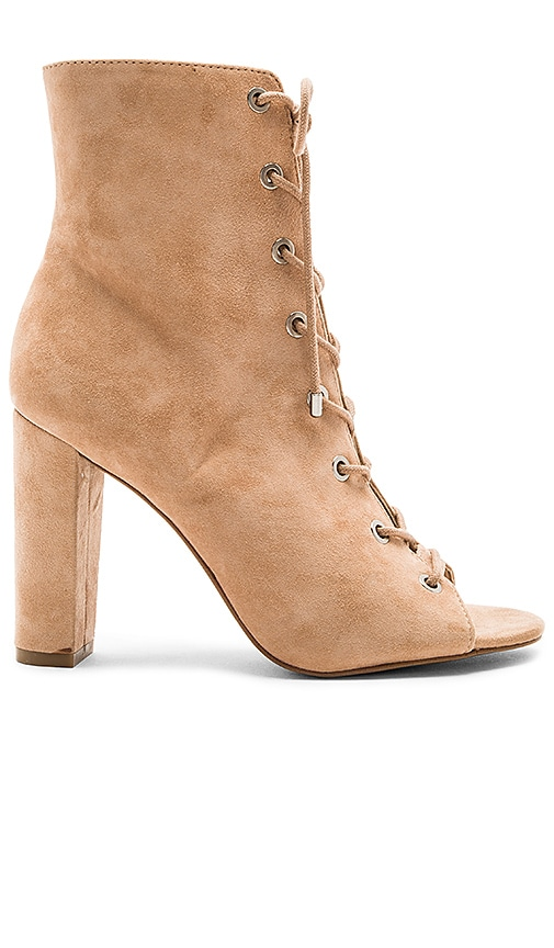 BCBGeneration Ripley Lace Up Bootie in Tan