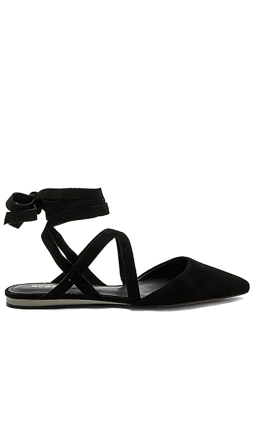 BCBGeneration Noel Flat in Black