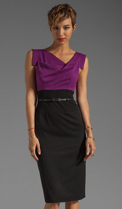 Jackie O Two Tone Dress