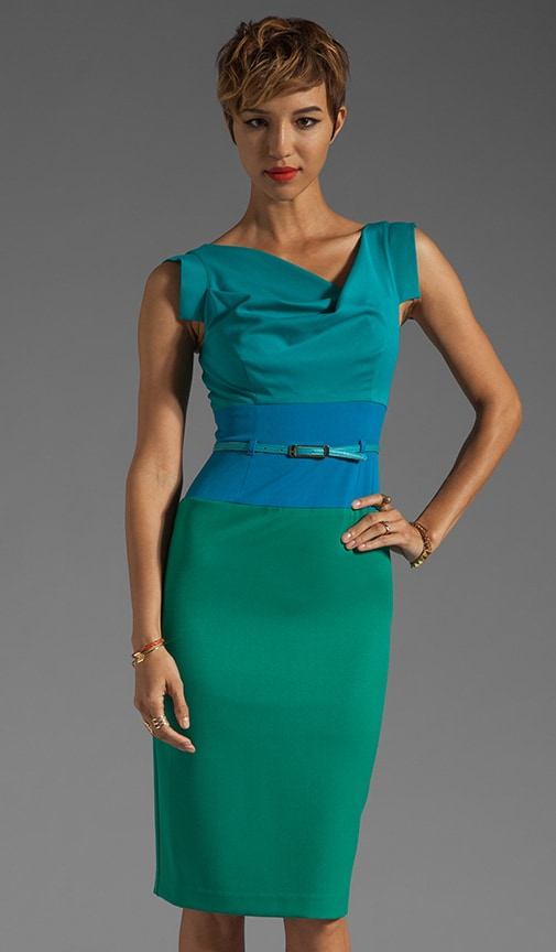 Jackie-O Three Tone Dress