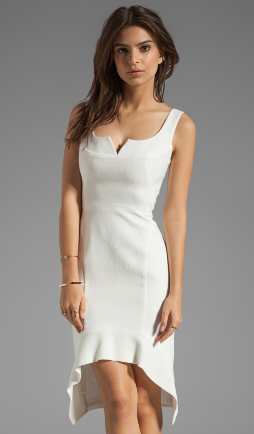 Dallas Pebble Crepe Dress