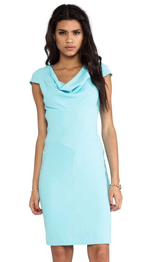 Gretchen Pebble Crepe Dress
