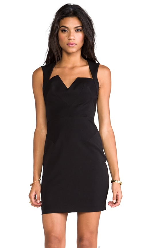 Laurence Stretch Gabardine Mini Dress