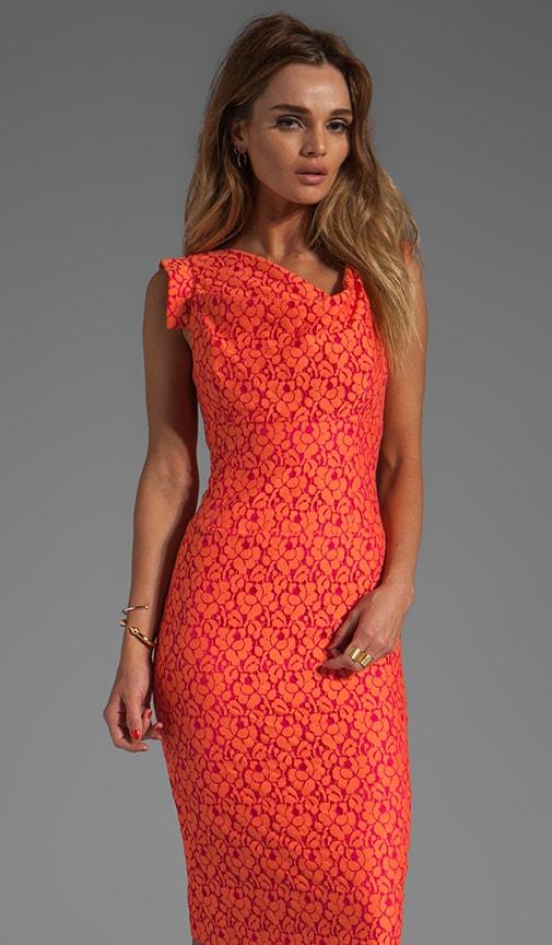 Jackie-O Cotton Raschel Lace Dress