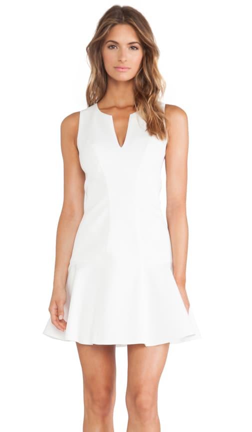 Black Halo x REVOLVE Nova Mini Dress in Winter White