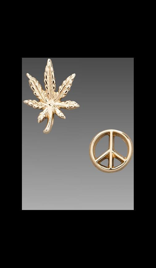 Give Peace a Chance Duet Stud