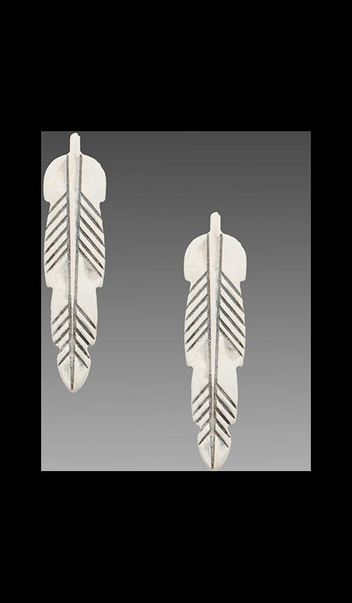 Kachina Feather Studs