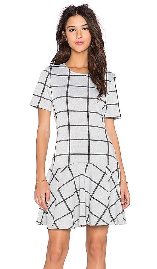 Bishop + Young Charlotte Mini Dress in Grey