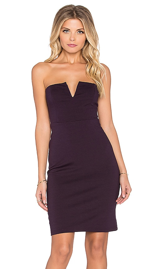 Bishop + Young Tube Dress in Berry