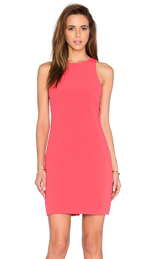 Bishop + Young Kate Cut Out Dress in Coral
