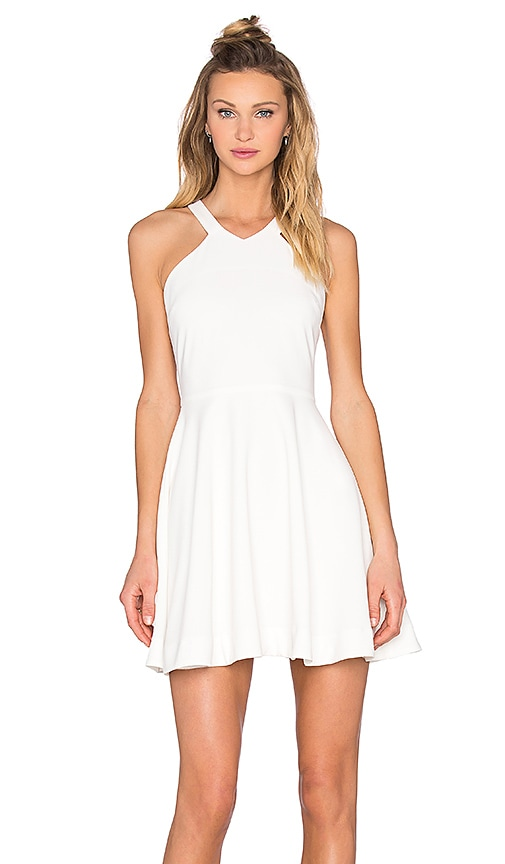 Bishop + Young Skater Dress in White