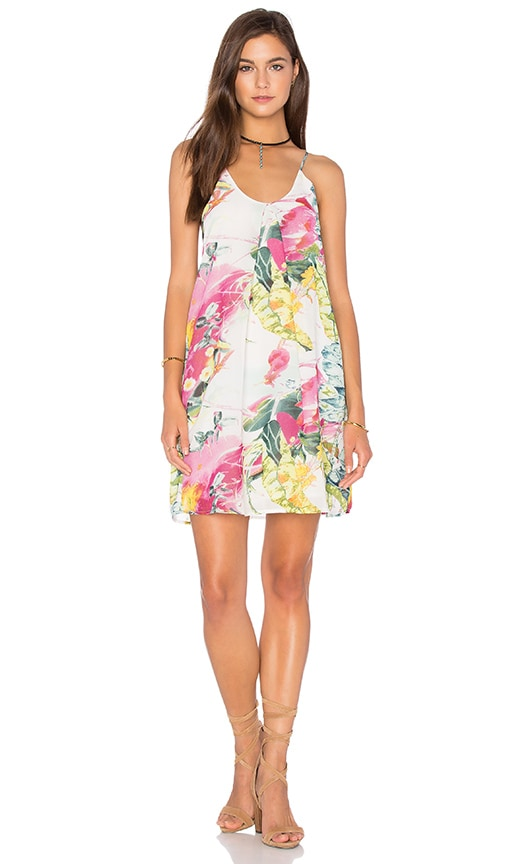 Bishop + Young Floral Shift Dress in Pink