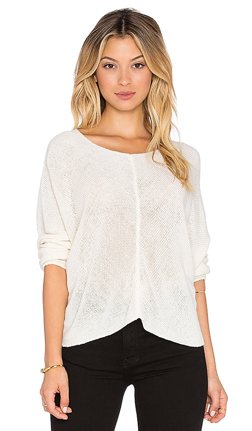 Bishop + Young Crop Sweater in Ivory