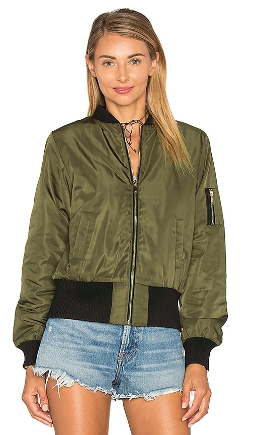 6d4cbc20aec93 Bishop + Young Bomber Jacket in Green low-cost - snipe.no