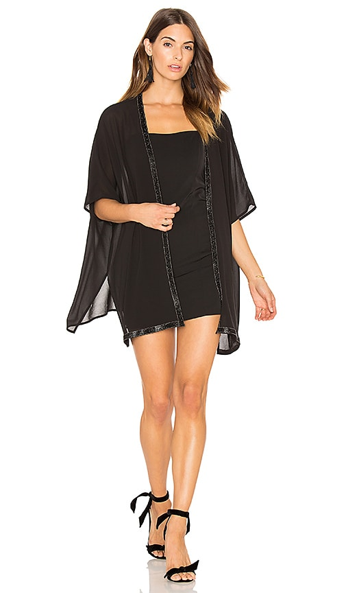 Bishop + Young Holiday Kimono in Black