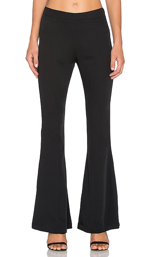 Bishop + Young Flare Pant in Black