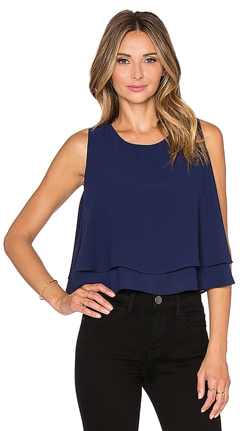 Bishop + Young Double Layer Tank in Navy