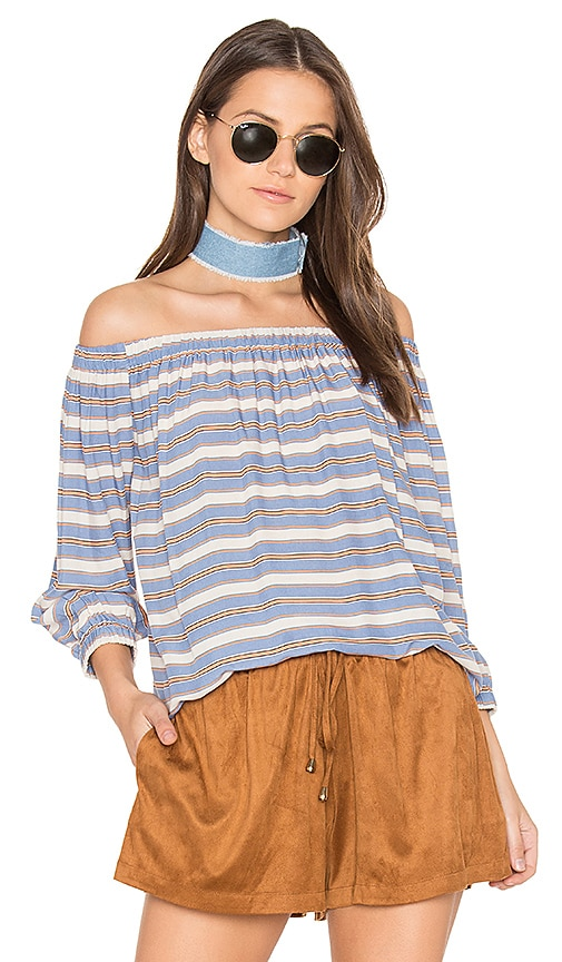 Bishop + Young Lucia Top in Blue