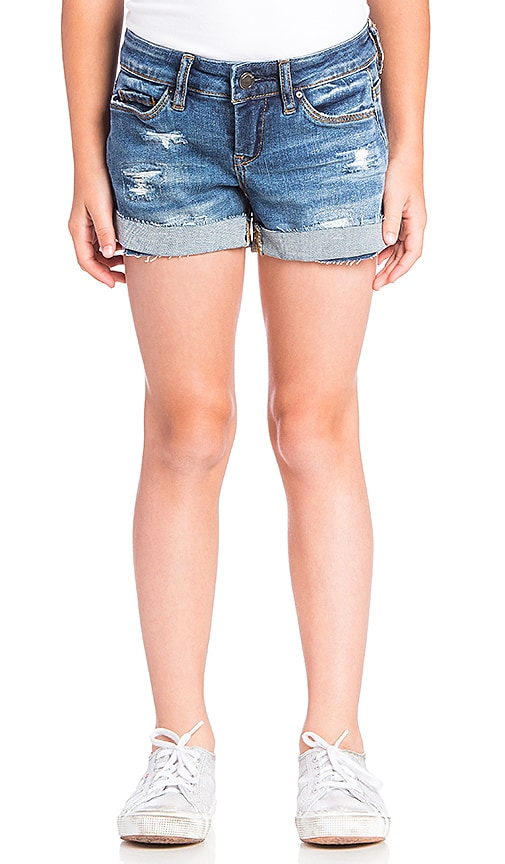 BLANKNYC Distressed Short in Blue