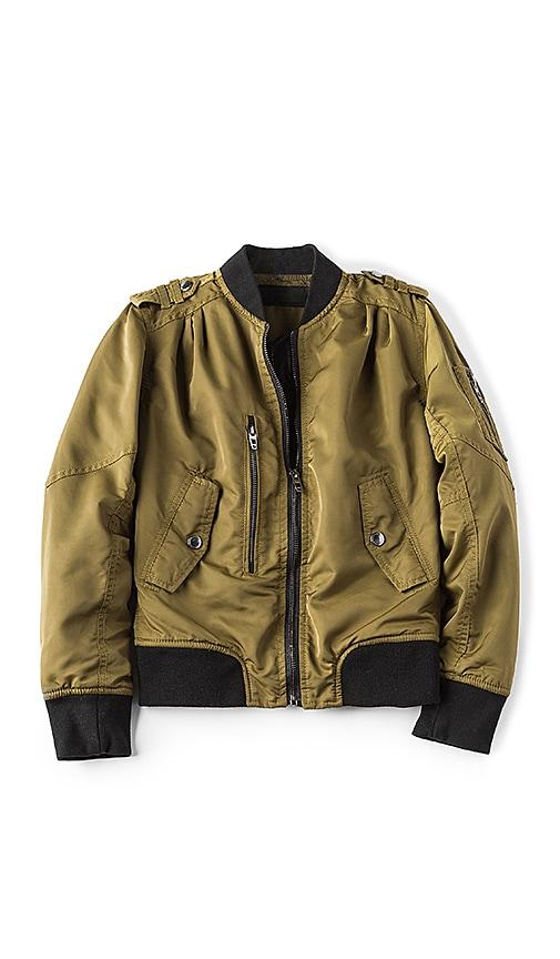 BLANKNYC Bomber Jacket in Olive