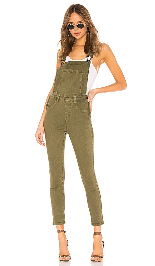 Fitted Skinny Overall