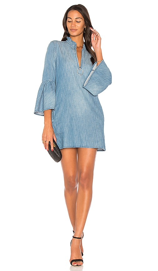 BLANKNYC Bell Sleeve Mini Dress in Good Behavior