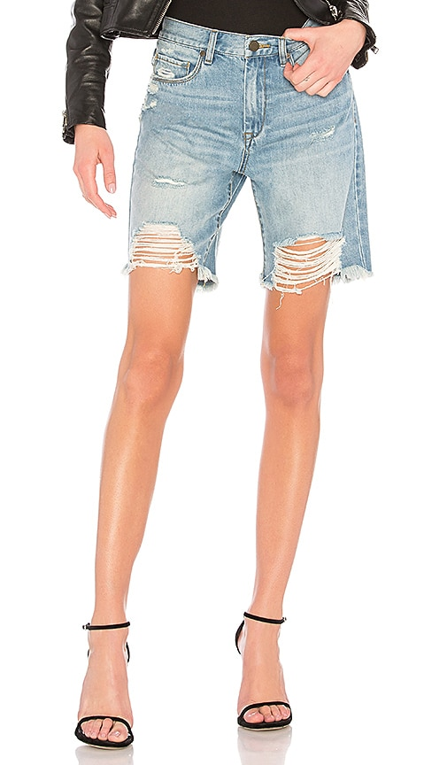 HIGH RISE TAPERED SHORTS