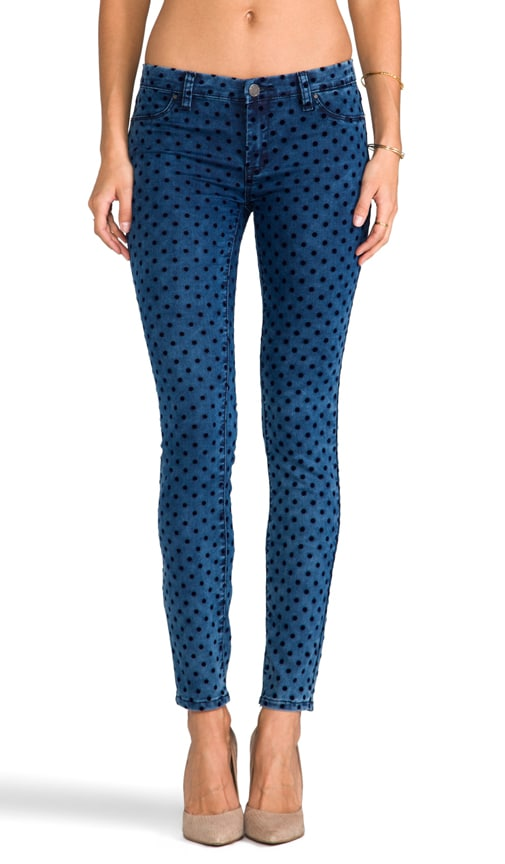 Polka Dot Denim