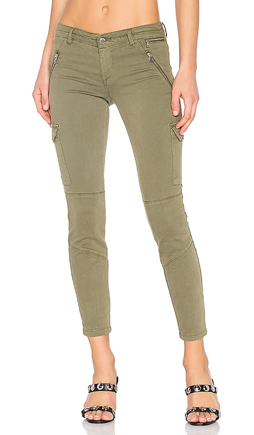 BLANKNYC Military Skinny in Olive