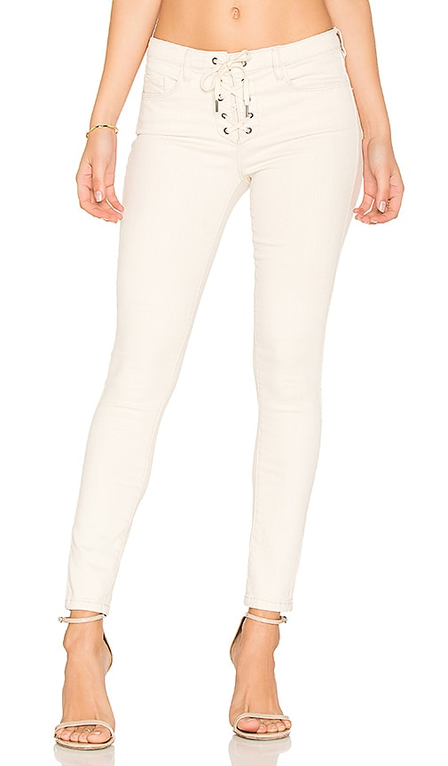 fc2578a2fd BLANKNYC Lace Up Skinny in Patch Job