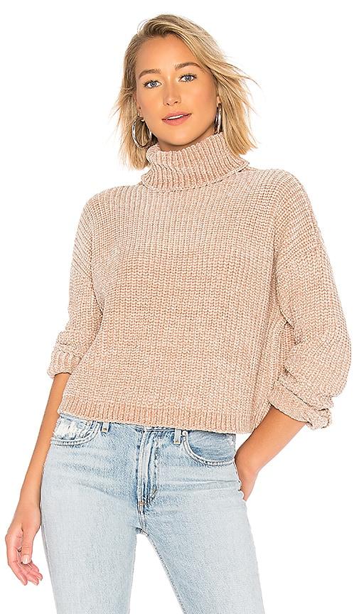 Chenille Turtleneck Sweater