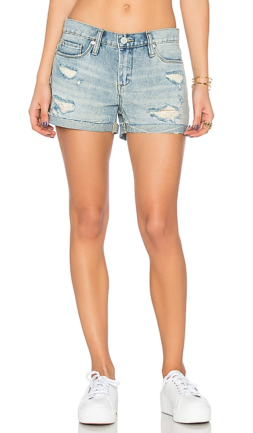 BLANKNYC Distressed Short in Pool Boy