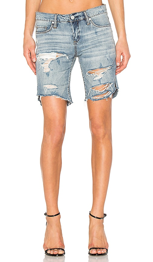 BLANKNYC Distressed Short in Chills & Thrills