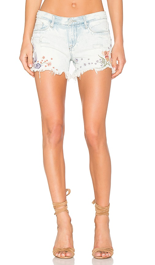 BLANKNYC Embroidered Short in Sitting Pretty