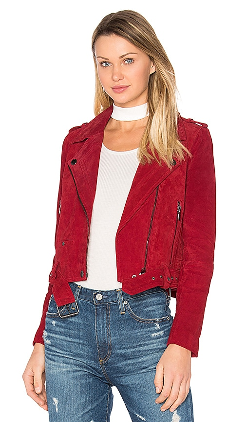 BLANKNYC Moto Jacket in Red