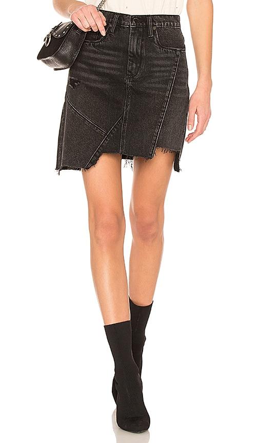 289aac7f9e High Rise Asymmetric Skirt. High Rise Asymmetric Skirt. BLANKNYC