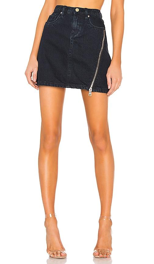Zipper A-Line Skirt