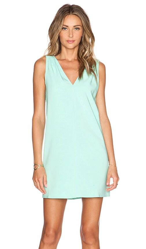BLAQUE LABEL V-Neck Dress in Mint