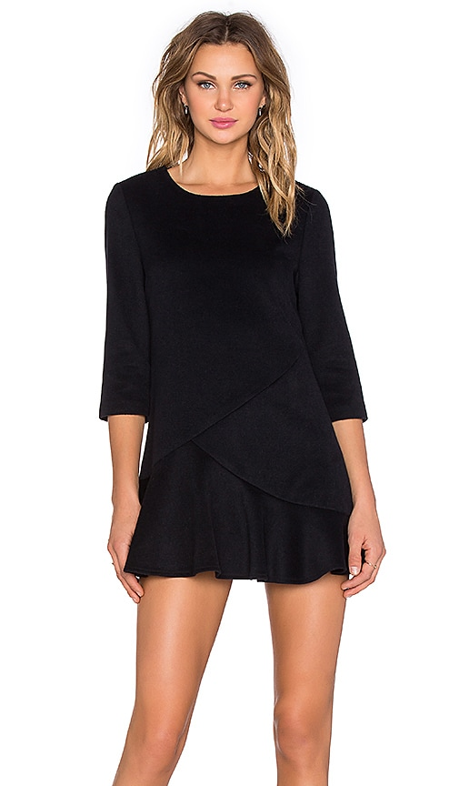 3/4 Sleeve Mini Dress