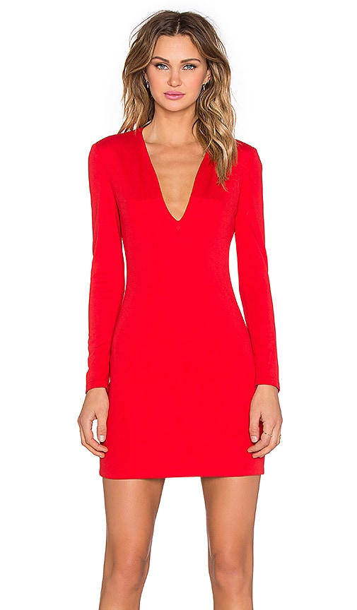 x REVOLVE Long Sleeve Mini Dress