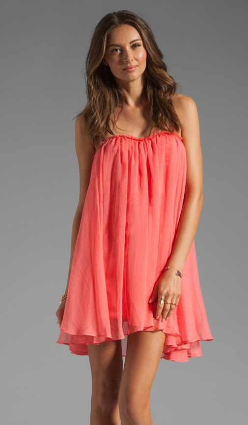 Short Chiffon Dress