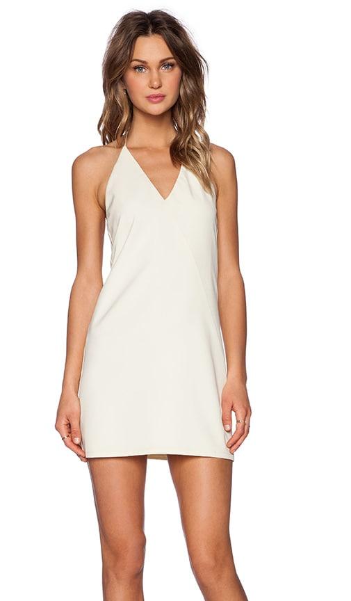BLAQUE LABEL Halter Dress in Cream
