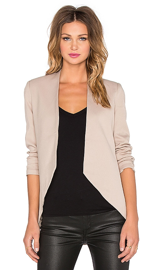 BLAQUE LABEL Sculpted Blazer in Tan