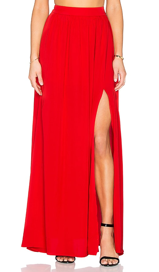 BLAQUE LABEL x REVOLVE Maxi Skirt in Red
