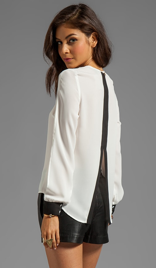 Slit Back Top