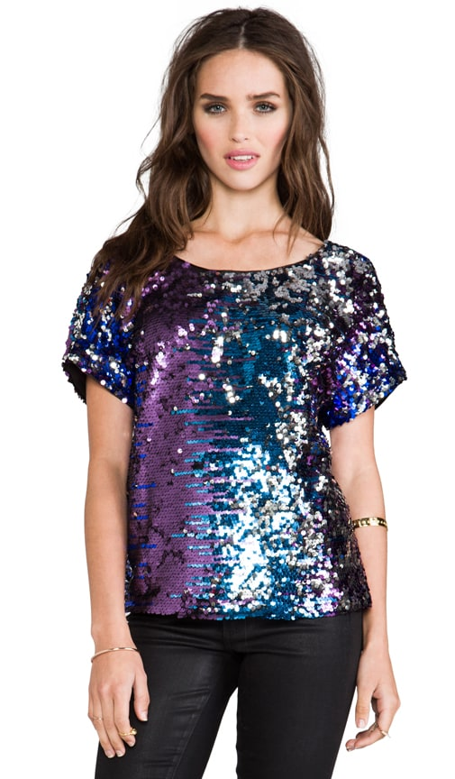Sequins Party Top