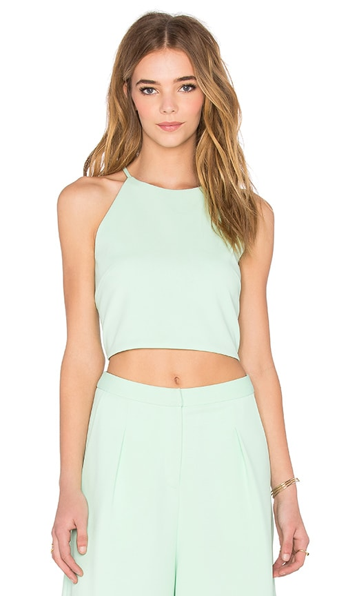 BLAQUE LABEL Crop Top in Green