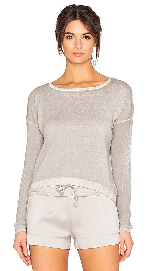 BLANC NOIR Boyfriend Sweater in Gray