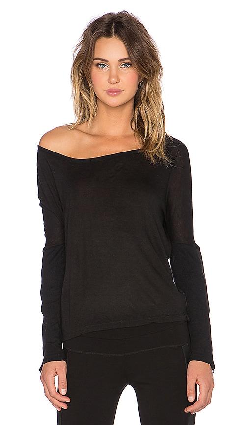 BLANC NOIR Off Shoulder Top in Black